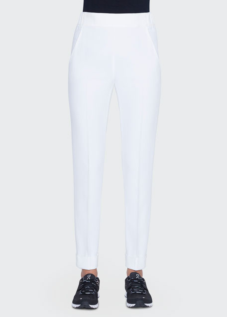 Chris Slim Conical-Leg Trousers