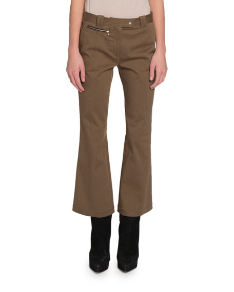 Image 1 of 1: Cropped Flare Pants