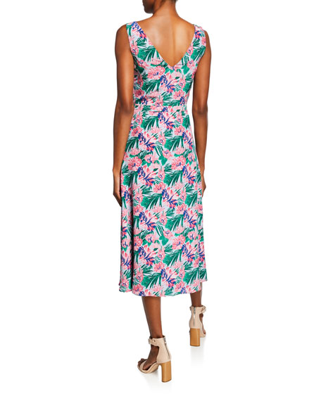 Rio Sleeveless Floral Dress