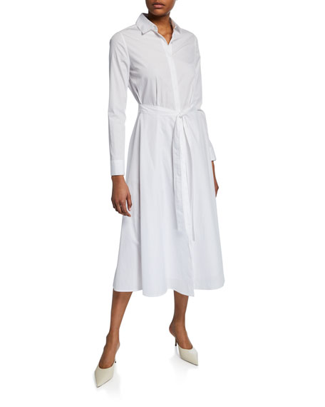 Wrapped Apron Shirtdress