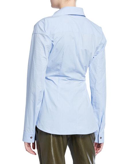 Wrapped Poplin Shirt