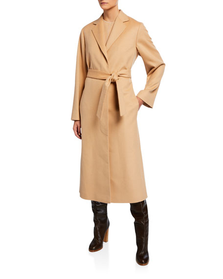 Cashmere Wrap Robe Coat