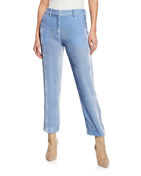 Image 1 of 1: Corduroy Cropped Pants