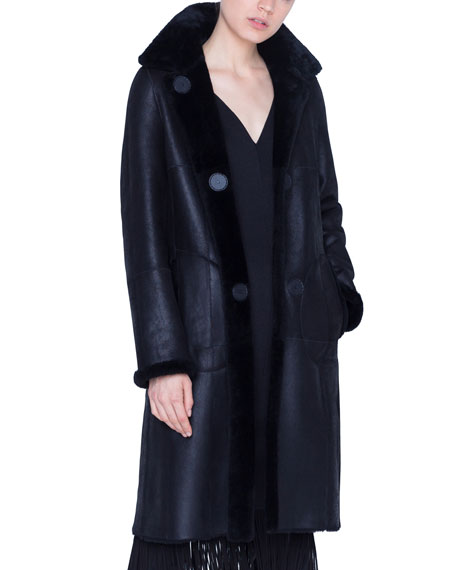 Reversible Lamb Fur Coat