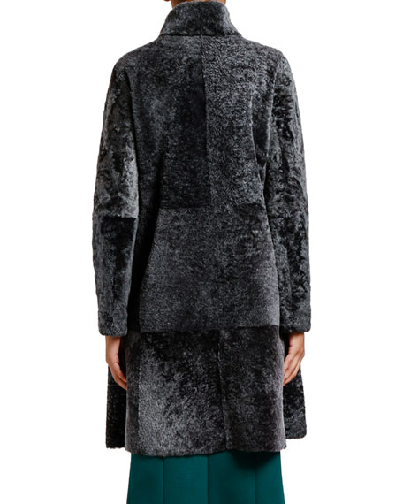 Reversible Spanish Lamb Coat