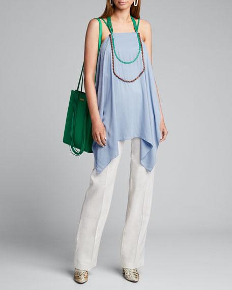 Necklace Halter-Neck Top