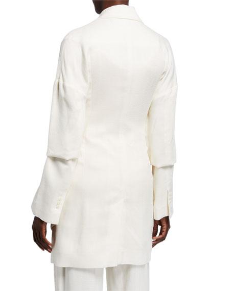 Murano Draped Layered Jacket
