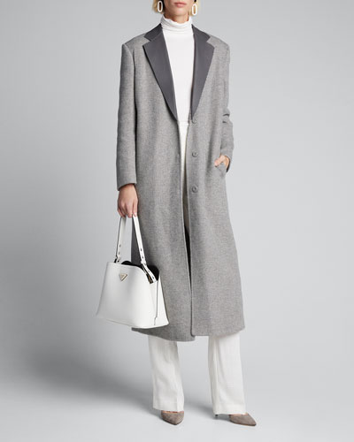 Recycled Cashmere Coat