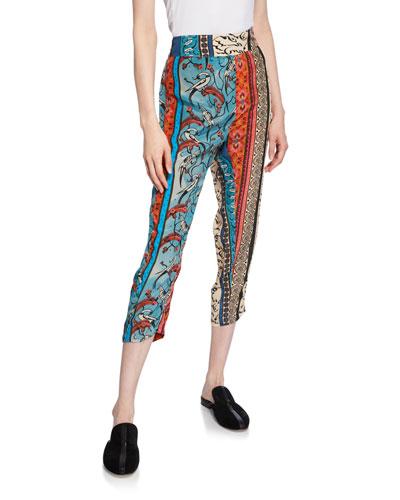 Alqamar Slim Patchwork Pants