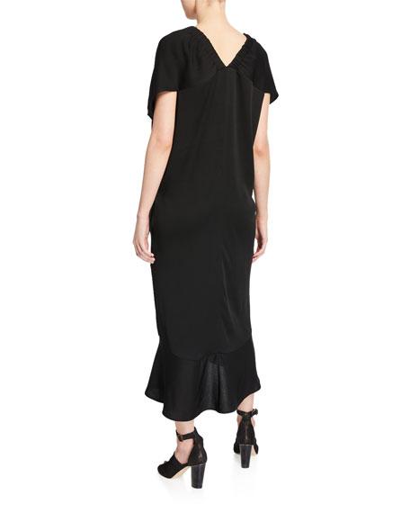 Lua Eco Draped Dress