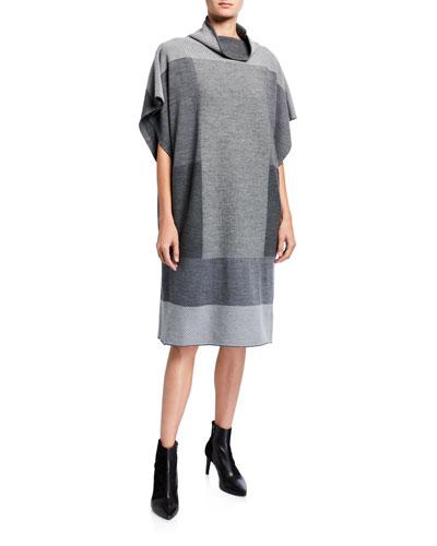 Canele Colorblocked Knit Dress