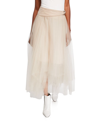 Solid Tulle Skirt