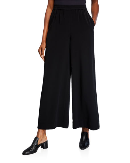 Georgette Palazzo Pants