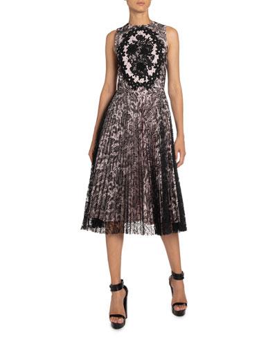 Antique Lace Midi Dress