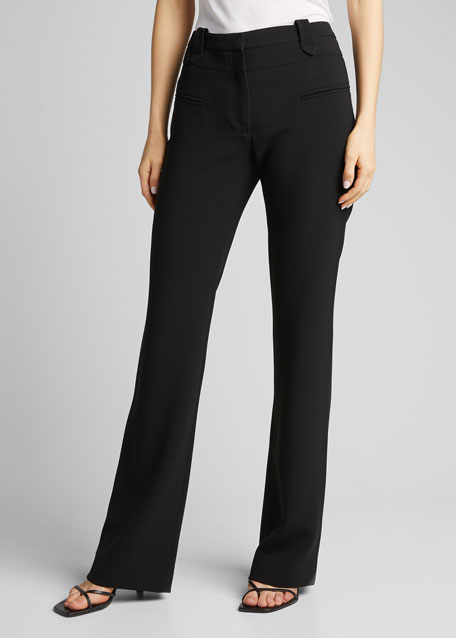 High-Rise Flare Pants