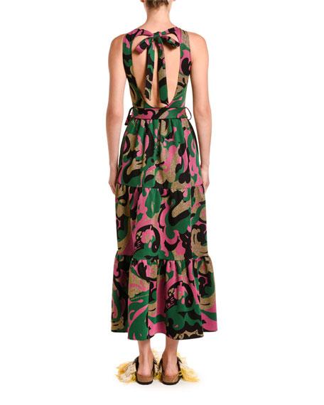 Pellicano Americano Sleeveless Tiered Dress