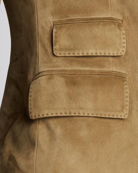 Parker Suede Blazer Jacket