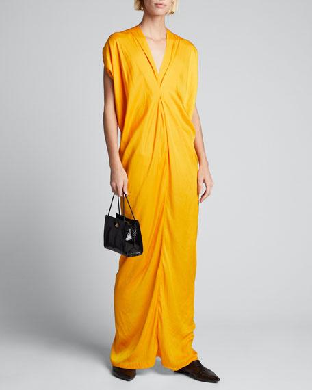 Issa Long Drapey Dress