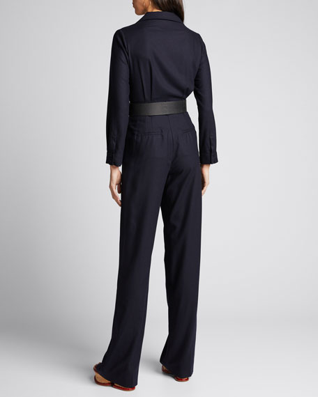 Well Silk-Cashmere Jumpsuit