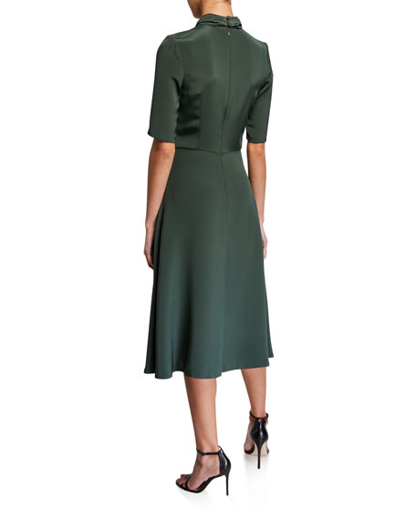 Twisted-Neck Dress