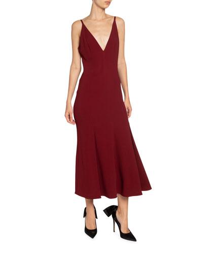 Cady Flared Midi Dress