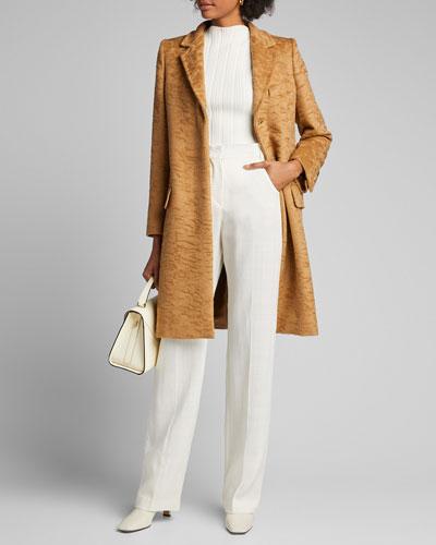 Oncia Alpaca/Wool Crinkle Coat
