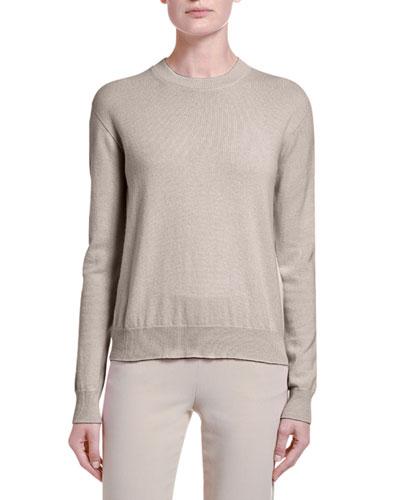 Alashan Cashmere Sweater  Brown