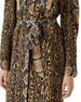 Costanza Leopard & Python Print Shirtdress