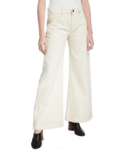 Noelle Flare-Leg Jeans