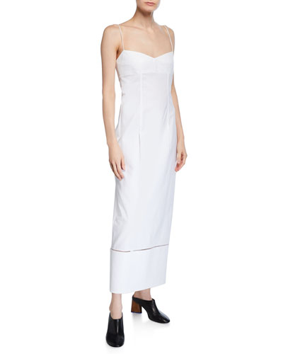 Diedre Poplin Slip Dress