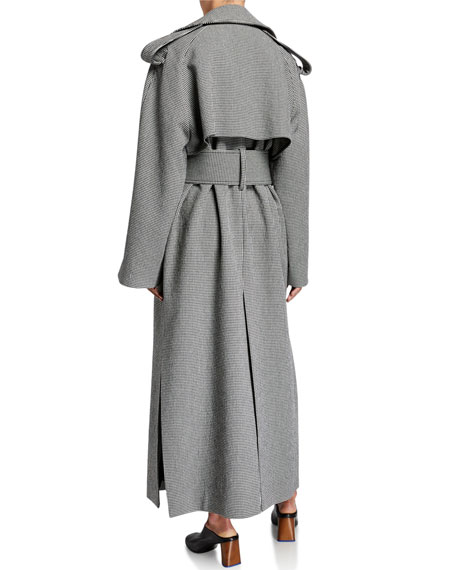 Binx Herringbone Trench Coat