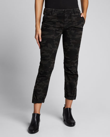 Camo Cropped French Military Pants