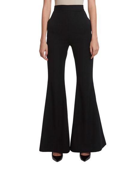 High-Rise Flared Pants