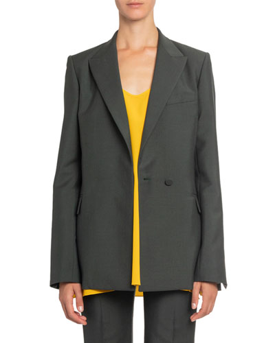 Tuxedo Cutout Blazer