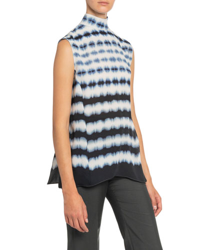 Day & Night Tie-Dyed Georgette Top
