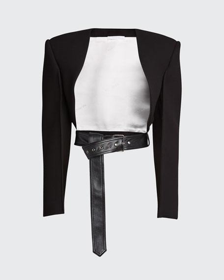 Suiting Bolero Jacket