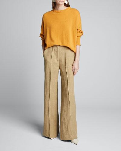 Heavy Linen Pants