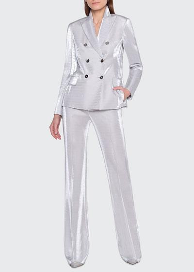 Gloriana Metallic Jersey Jacket