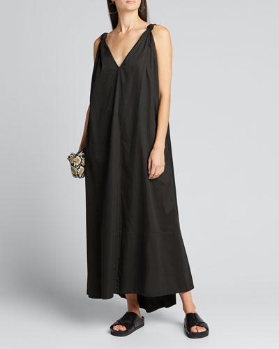 Tie-Strap Sleeveless Dress
