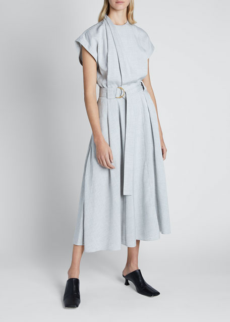 Image 1 of 1: Lightweight Suiting Dress