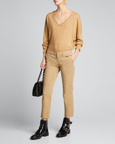 Ginny Deep V-Neck Sweater