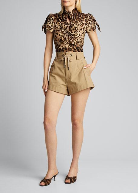 Cotton Safari Shorts