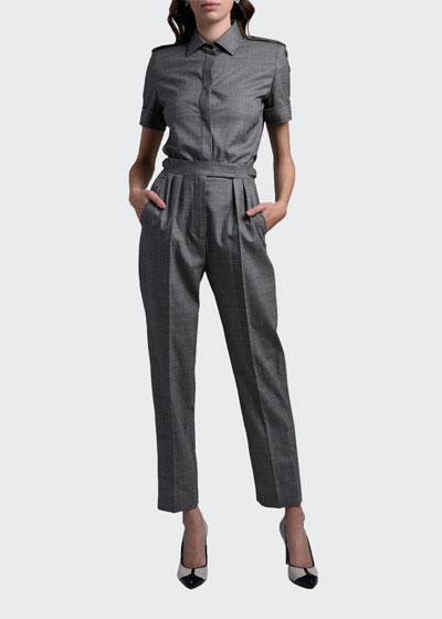 Supremo Wool Twill Pants