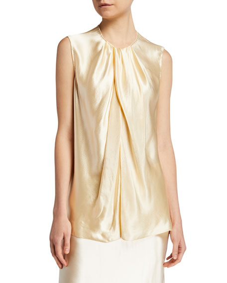 Image 1 of 1: Shira Hammered Jersey Top