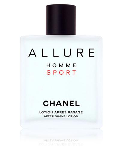<b>ALLURE HOMME SPORT</b><br>After Shave Lotion 3.4 oz.