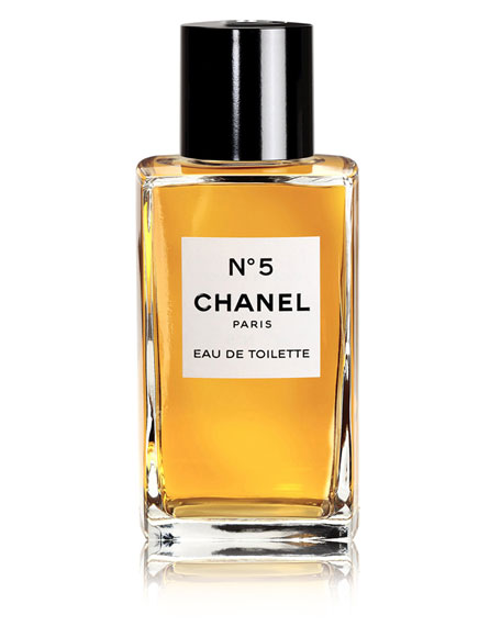 <b>N°5 </b><br>Eau de Toilette Bottle 3.4 oz.