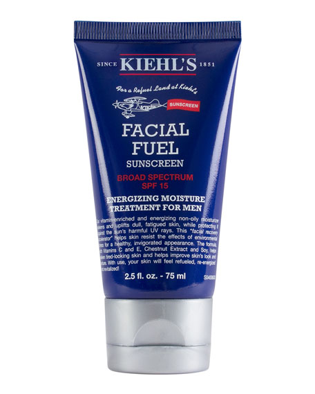 Travel-Size Facial Fuel Energizing Moisture Treatment for Men SPF 15, 2.5 oz.