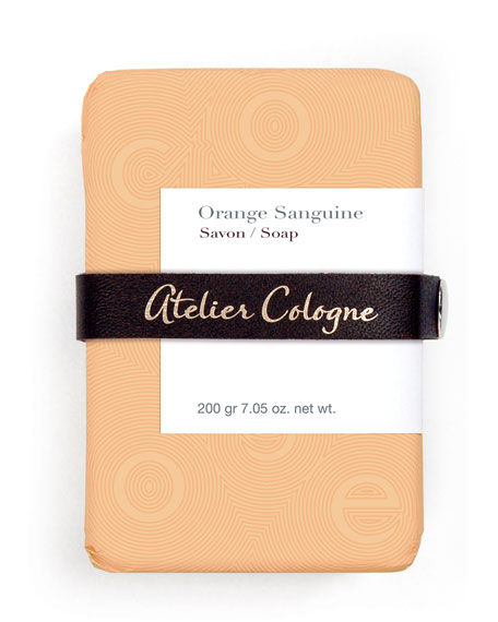 ORANGE SANGUINE SOAP