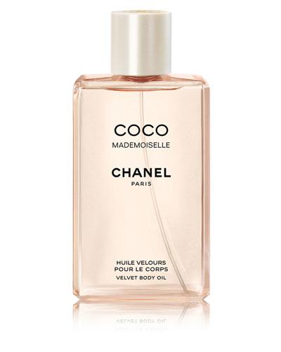 <b>COCO MADEMOISELLE</b><br> Velvet Body Oil Spray