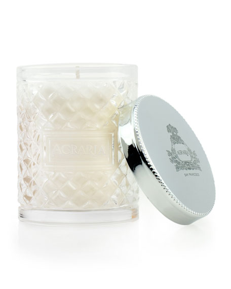 Cedar Rose Crystal Candle, 3.4 oz.